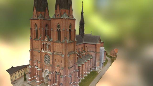 Uppsala domkyrka 3D Model