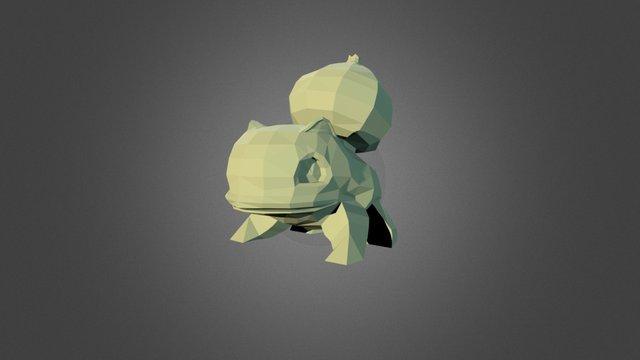 Bulbasur 3D Model
