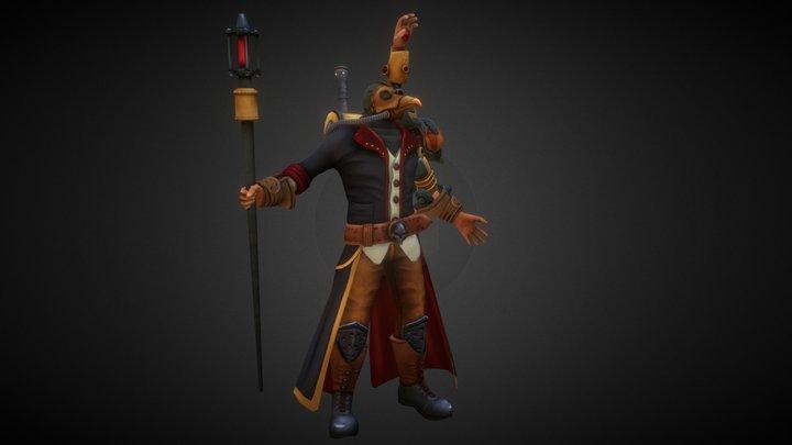 Plague Viktor 3D Model