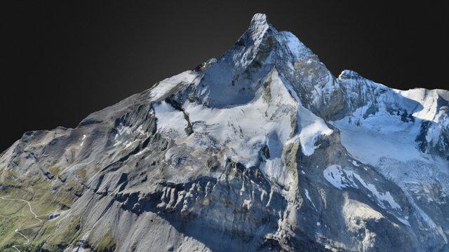 3D Matterhorn (Cervin) 3D Model