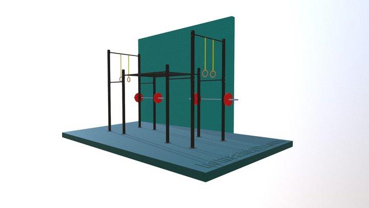Propuesta Gimnasio Valle de Bravo 3D Model
