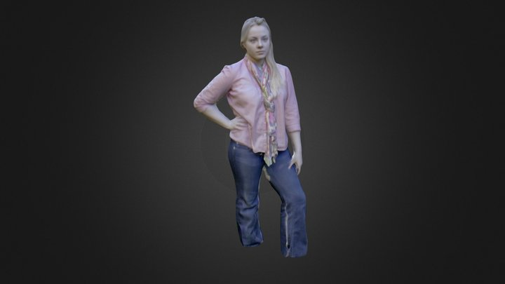Christina 3D Model