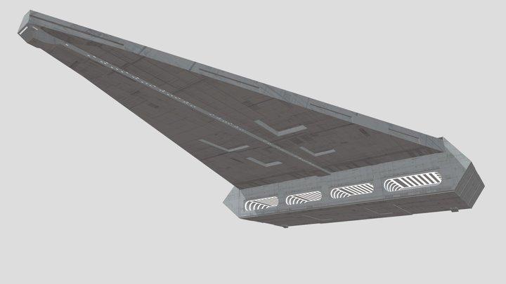 Qasar-Fire Cruiser-Carrier 3D Model