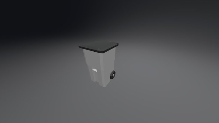[Minimilistic] Garbage Bin 3D Model
