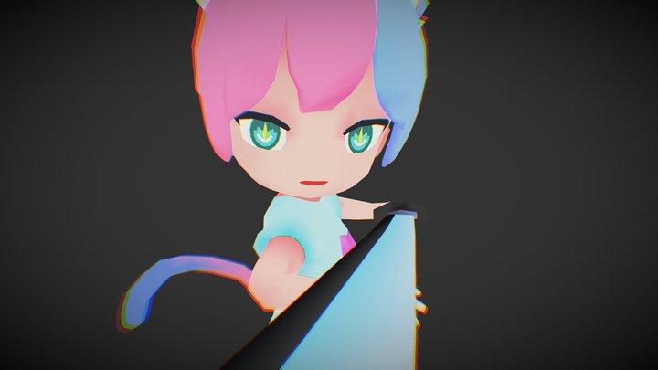 SD Character Lyla 3D Model