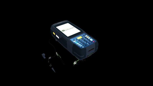 NEWLAND MT7050-2K, 2D CMOS, BT & WIFI (CE6.0) 3D Model