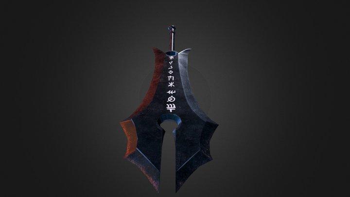Obsidian Greatsword 3D Model