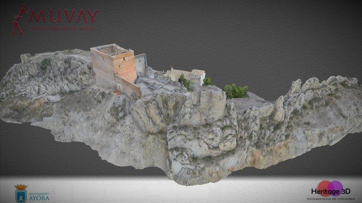 Castillo de Ayora 3D Model