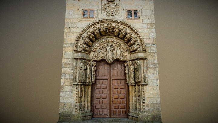 Pórtico:Colegio San Xerome.Santiago Compostela. 3D Model