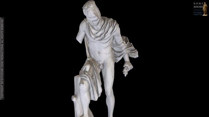 Hermes and the Infant Dionysus 3D Model