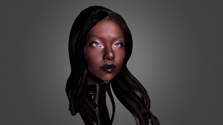 Wakanda  princess 3D Model