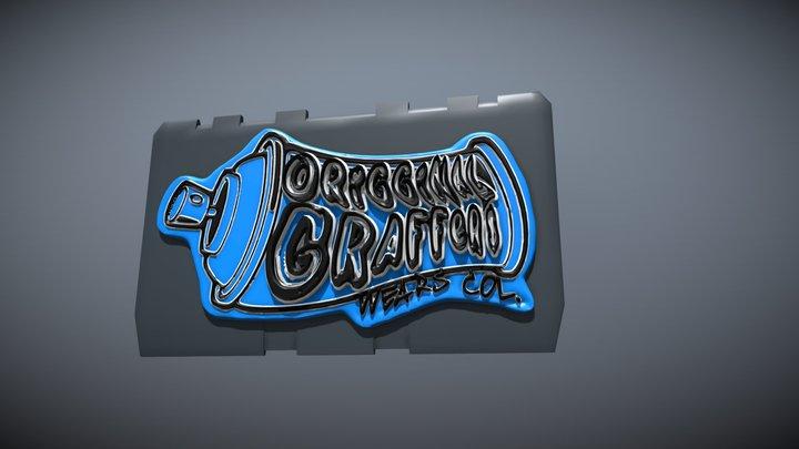 OGW Col Logo Origginal Graffers Wear co 3D Model