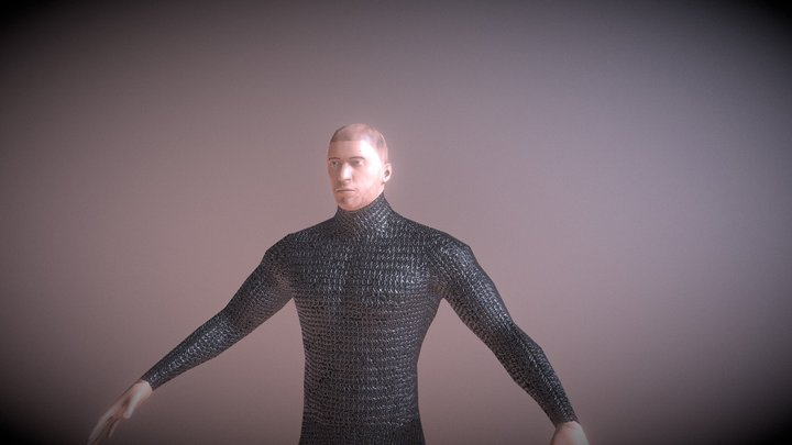 Character LowPoly Texture 1 3D Model