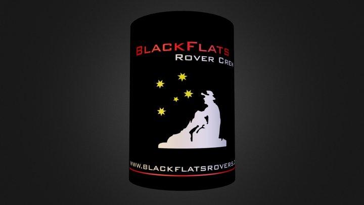 Stubbie Holder Design for BlackFlats Rovers  3D Model