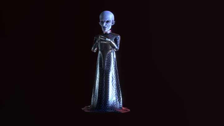 Evil genius 3D Model