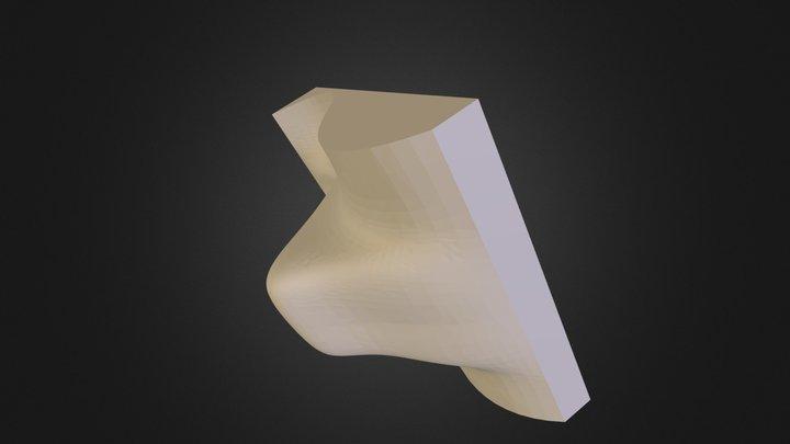 alpha chair mold 3D Model