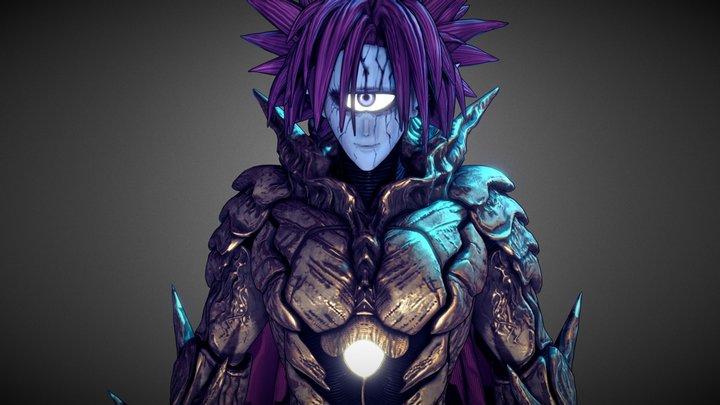 Lord Boros (OnePunch Man) 3D Model