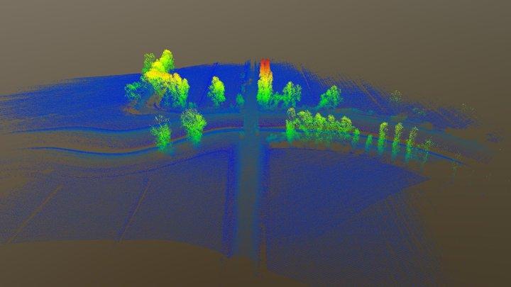 2 - S.Donà di Piave (VE) - Rilievo Lidar con APR 3D Model