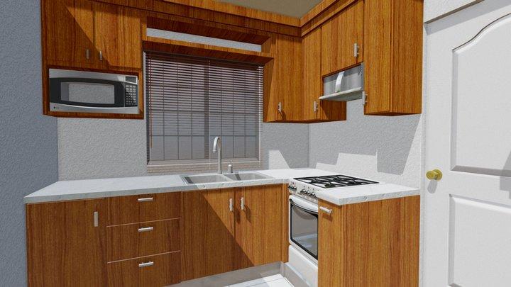 Kitchen CQ 3D Model