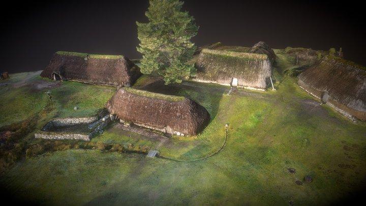 Highland folk museum Newtonmore Scotland 3D Model