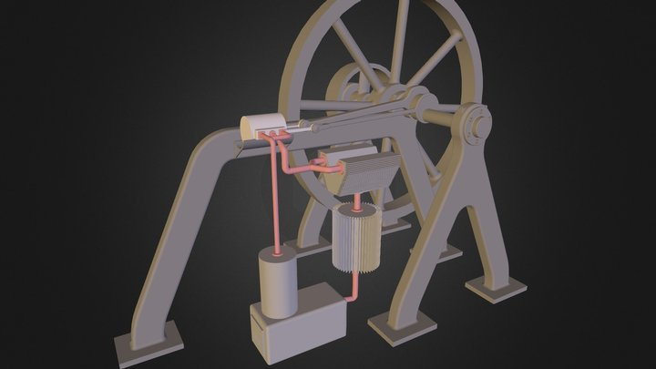 Steam 3D Model