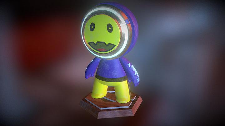 #MeetMAT17 Smiley Power by Stev 3D Model