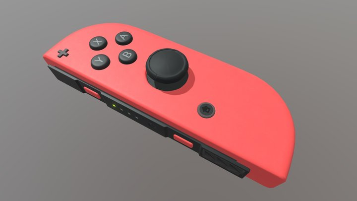 Nintendo Switch Joycon 3D Model