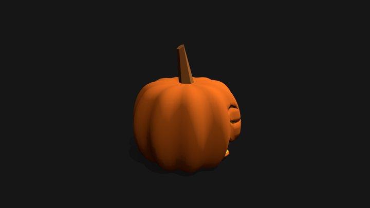 Jack O' Lantern 3D Model