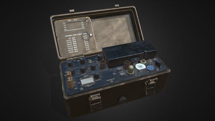 Radio Set AN/PRC-64 DELCO 3D Model