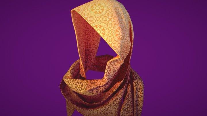 Wanderer's Scarf 3D Model