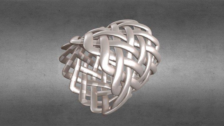 Bague Celtique 3D Model