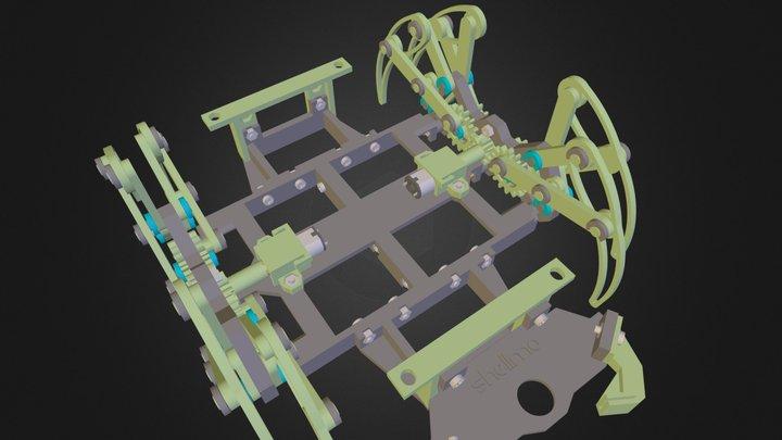 RepSpider_v1 3D Model