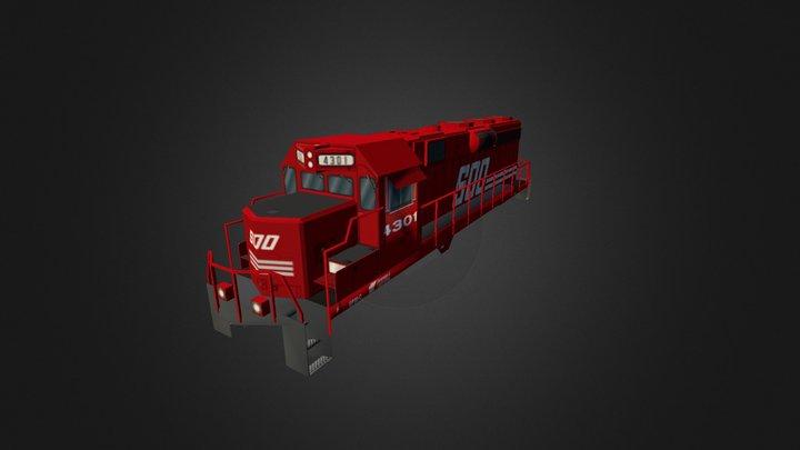 GP30 FR 3D Model