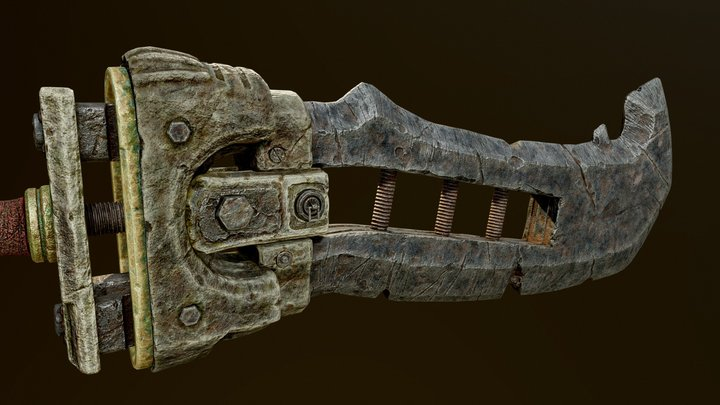 Great-Sword | Warrior Weaponry 3D Model
