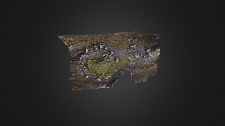 Rubha Ghaisinis Chambered Cairn, South Uist 3D Model