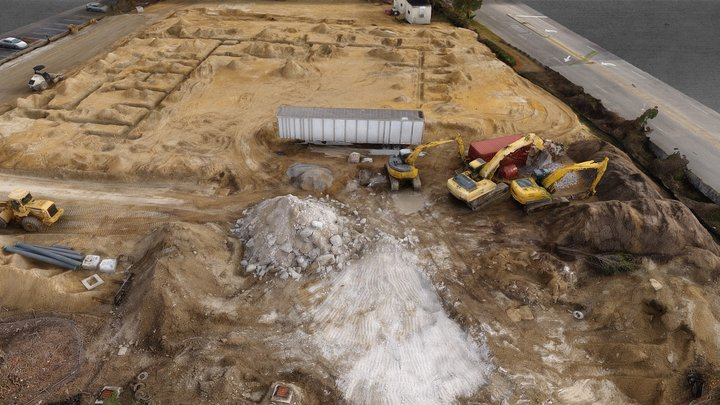Construction Site Week 3 3D Model