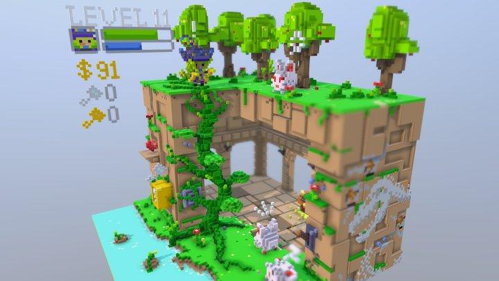 no play no game 3D Model
