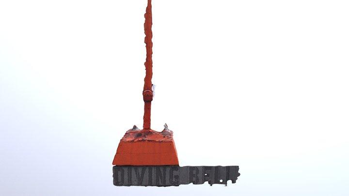 Diving Bell, Grand Canal Dock, Dublin. 3D Model