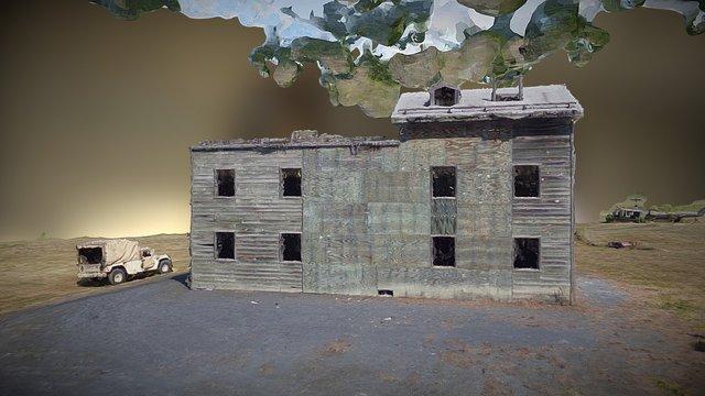 FIG 3D Model Building Hi-res Textured Mesh 3D Model