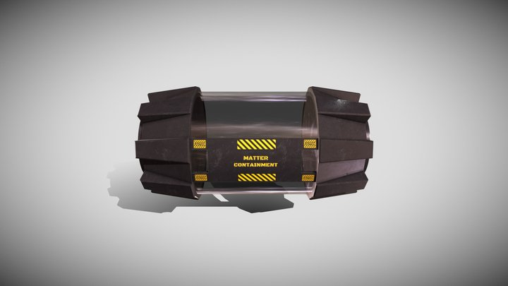 Anti-matter Container 3D Model
