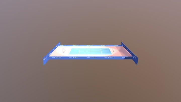 Gasquet--zverev-17-29-BG05 Cut Public Rond SKF 3D Model