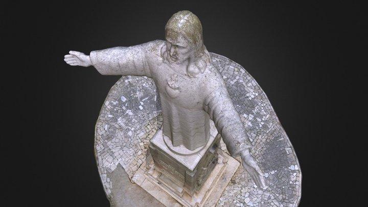 Christ Redeemer 3D Model