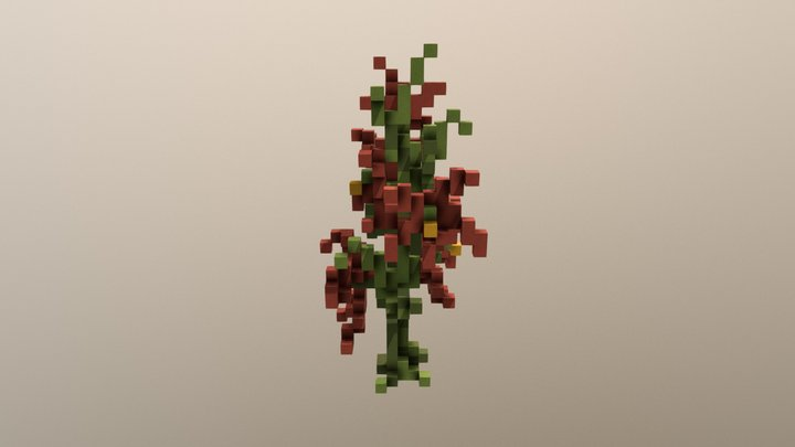 Flower3.schematic 3D Model