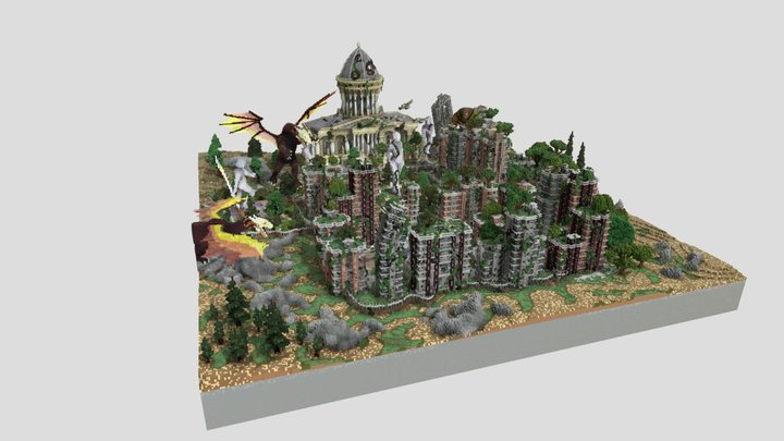 The forgotten city (outdated version) 3D Model