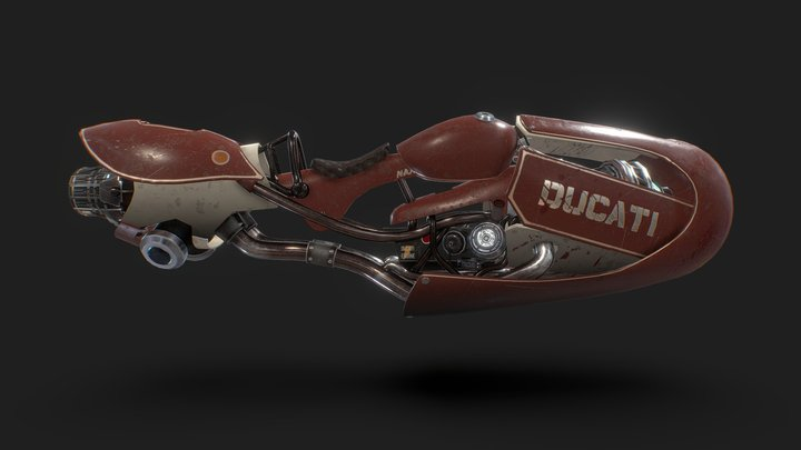 DUCATI future 3D Model