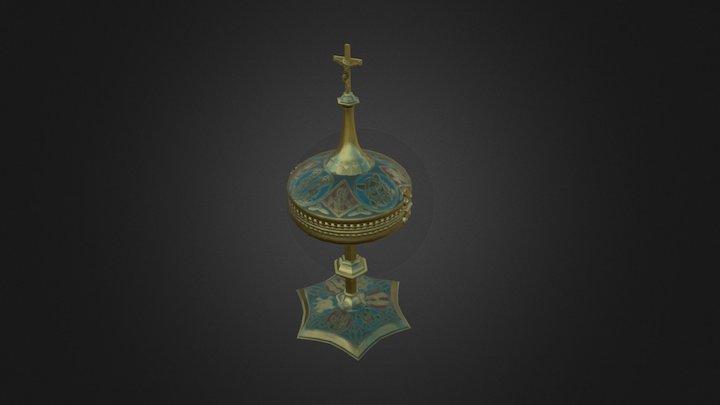 Ciborium, Spanish 3D Model