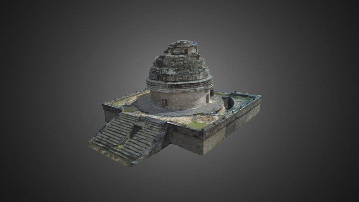 Chichén Itzá - Caracol 3D Model