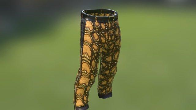 Rust - Snake Skin Pants 3D Model