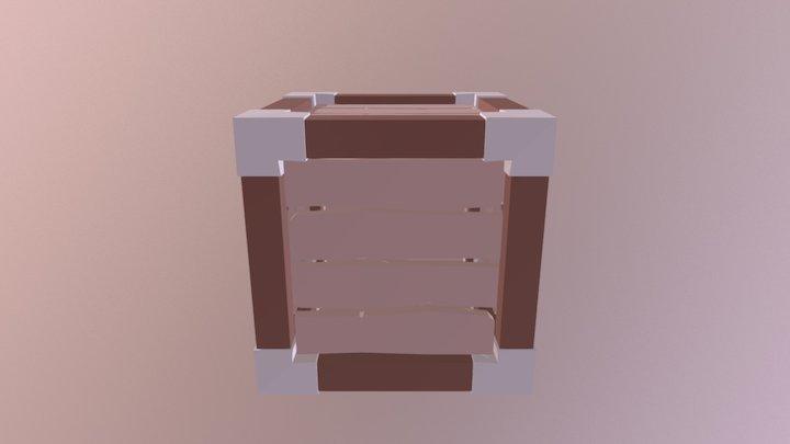 Box Caja Lowpoly 3D Model