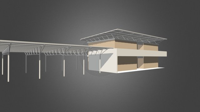 TOG-DET-Escalier secondaire 3D Model